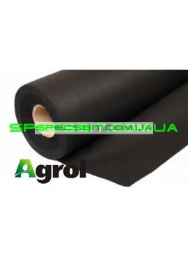 Агроволокно мульчирующее черное Agrol (Агрол) 50 г/м2 1,6х100