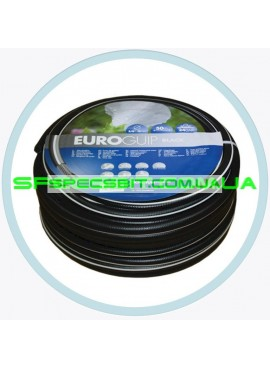 Шланг для полива Tecnotubi (Технотуби) Euro Guip Black 1/2 12мм 25м