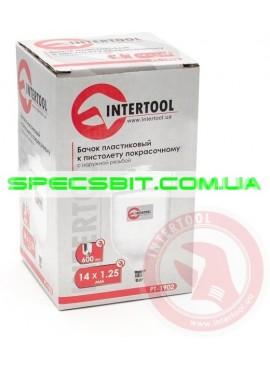 Бачок пластиковый Intertool (Интертул) PT-1902 с внешней резьбой