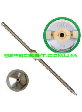 Комплект форсунок LVLP 1,3 мм ПРОФ Intertool (Интертул) PT-2013