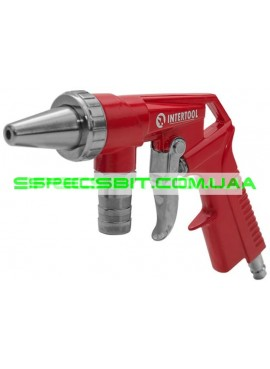 Пистолет пескоструйный пневматический со шлангом Intertool (Интертул) PT-0706