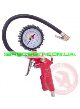 Пистолет для подкачки колес с манометром Intertool (Интертул) PT-0504