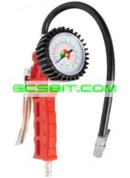 Пистолет для подкачки колес с манометром Intertool (Интертул) PT-0505