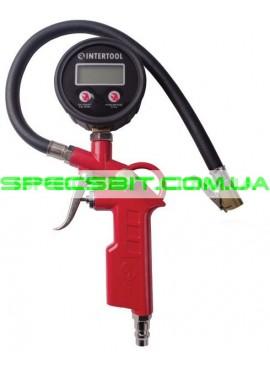 Пистолет для подкачки колес с манометром Intertool (Интертул) PT-0508