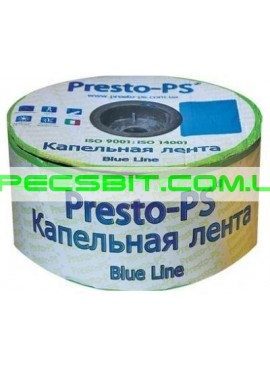 Лента капельного полива 30 Presto (Престо) Blue Line 500м