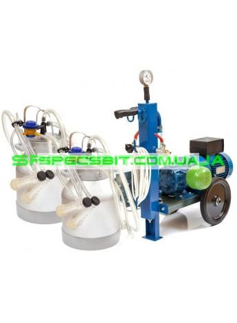 Доильный аппарат АИД-2 сухой для козы (2 ведра)