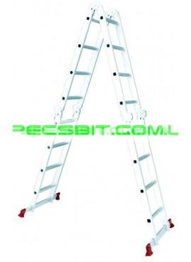 Лестница алюминиевая трансформер 4,75 м Intertool (Интертул) LT-0029