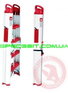 Лестница стремянка раскладная 1,3 м Intertool (Интертул) LT-0050