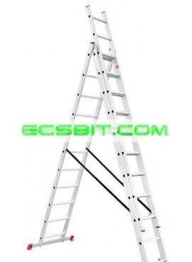 Лестница раскладная 3 секции 7,33 м Intertool (Интертул) LT-0311
