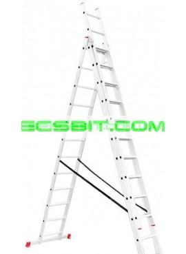 Лестница раскладная 3 секции 7,89 м Intertool (Интертул) LT-0312