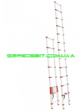 Лестница телескопическая 3,8 м Intertool (Интертул) LT-3038