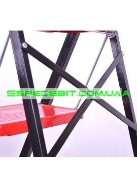 Стремянка металлическая 1,01 м Intertool (Интертул) LT-0043