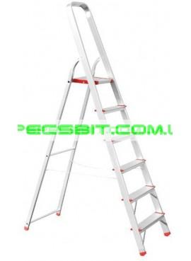 Стремянка алюминиевая 1,28 м Intertool (Интертул) LT-1006