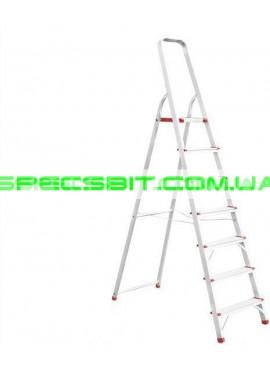 Стремянка алюминиевая 1,5 м Intertool (Интертул) LT-1007