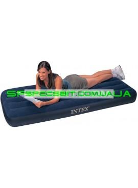 Матрас надувной одноместный Classic Downy Bed Intex (Интекс) 68950 191*76см