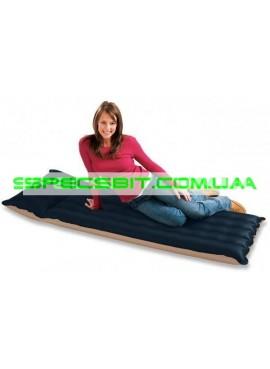Матрас надувной одноместный Camping Mat Intex (Интекс) 68798 189*72см