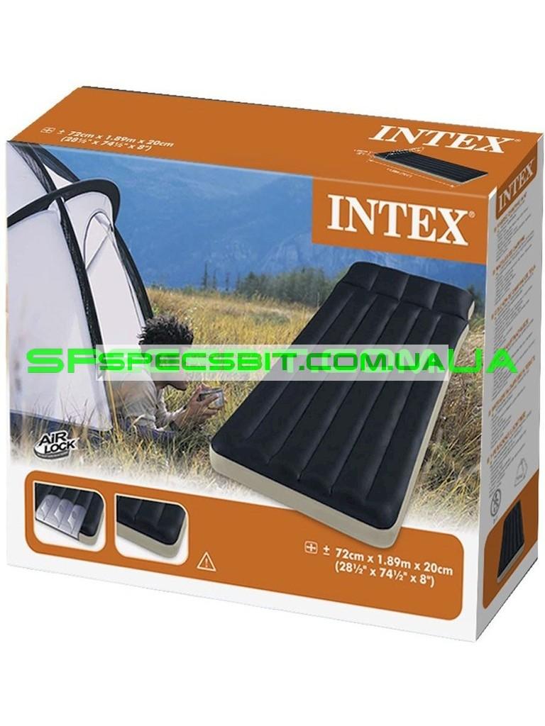 Надувной матрас Intex 152x203x46cm 64474
