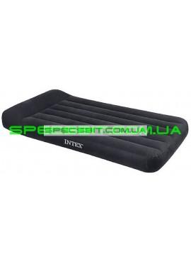 Матрас надувной одноместный Pillow Rest Classic Bed Intex (Интекс) 66767 191*99см