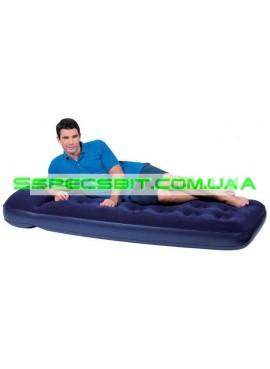 Матрас надувной одноместный Flocked Air Bed BestWay (Бествей) 67000 185*76см