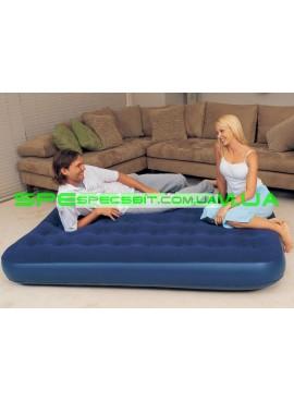 Матрас надувной полуторный Flocked Air Bed BestWay (Бествей) 67274 193*122см