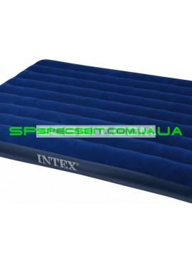 Матрас надувной двуспальный Classic Downy Bed Intex (Интекс) 68759 203*152см