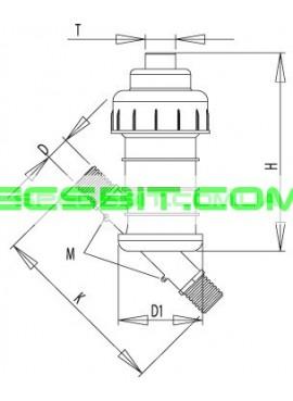Мини пластиковый фильтр Aytok (Айток) MPE 20