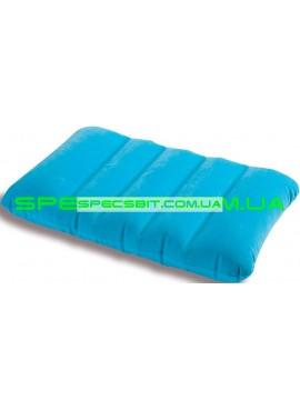 Подушка надувная Downy Pillow Intex (Интекс) 68676 43*28см, синяя