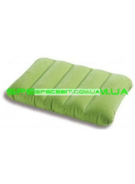 Подушка надувная Downy Pillow Intex (Интекс) 68676 43*28см, зеленая