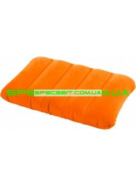 Подушка надувная Downy Pillow Intex (Интекс) 68676 43*28см, оранжевая