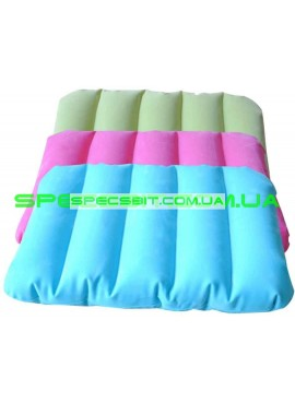 Подушка надувная Downy Pillow Intex (Интекс) 68676 43*28см, розовая