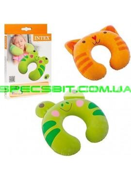 Подушка надувная Travel Pillow Intex (Интекс) 68678-F 28*30см