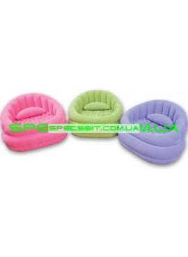 Надувное кресло Cafe Chair Intex (Интекс) 68563 91-102-65см, фиолетовое