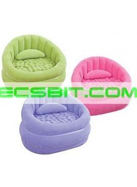 Надувное кресло Cafe Chair Intex (Интекс) 68563 91-102-65см, розовое