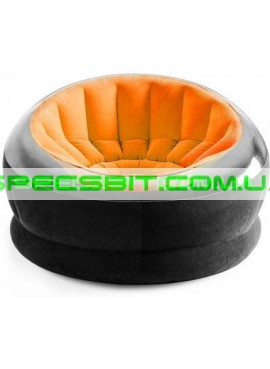 Надувное кресло Empaire Chaire Intex (Интекс) 68582 112-109-69см, оранжевое