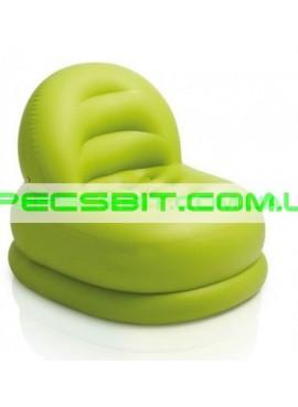 Надувное кресло Cafe Club Chair Intex (Интекс) 68592-Z 99-84-76см, зеленое