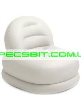 Надувное кресло Cafe Club Chair Intex (Интекс) 68592-W 99-84-76см, белое
