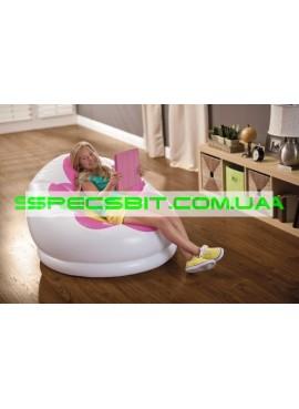 Надувное кресло Blossom Chair Intex (Интекс) 68574-R 102-99-64 см, розовое