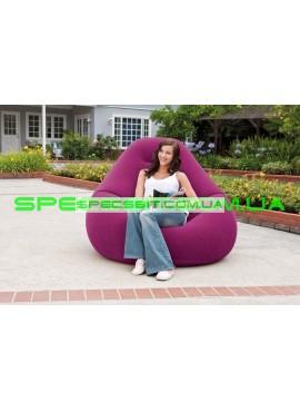 Надувное кресло Deluxe Beanless Bag Chair Intex (Интекс) 68584 122-127-81см