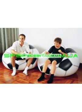 Надувное кресло Sports Fan Beanless Bag Intex (Интекс) 68557 110-108-66см