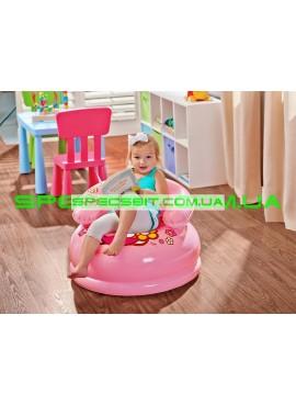 Надувное детское кресло Kids Chair Intex (Интекс) 48508 66-42см