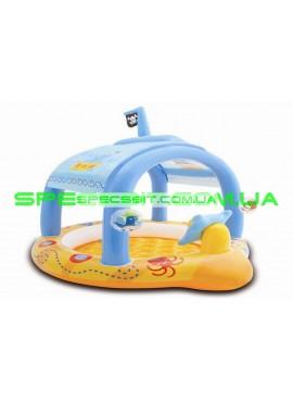 Детский надувной бассейн Pool Little captain Intex (Интекс) 57426 107-102-99см
