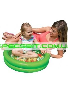 Детский надувной бассейн My First Pool Intex (Интекс) 58922 61-15см