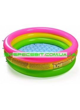 Детский надувной бассейн Sunset Glow Pool Intex (Интекс) 58924 86-25см