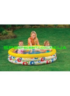 Детский надувной бассейн Wild Geometry Pool Intex (Интекс) 58439 147-33см