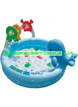 Детский надувной бассейн Dolphins Pool Intex (Интекс) 57400 90-53см