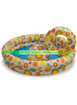 Детский надувной бассейн Fancy Stars Pool Set Intex (Интекс) 59460 122-25см