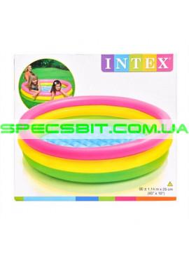 Детский надувной бассейн Sunset Glow Pool Intex (Интекс) 57412 114-25см