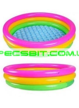 Детский надувной бассейн Sunset Glow Pool Intex (Интекс) 57422 144-33см