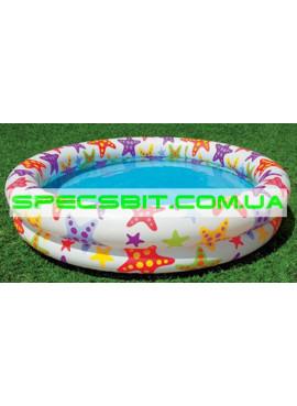 Детский надувной бассейн Fancy Stars Pool Intex (Интекс) 59421 122-25см