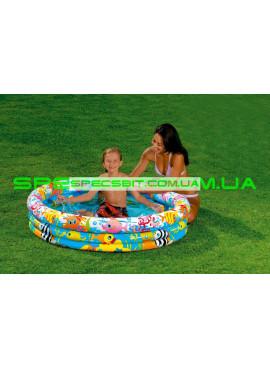 Детский надувной бассейн Fishbowl Pool Intex (Интекс) 59431 132-28см
